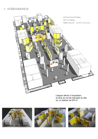 Etude 3D-maquette volume